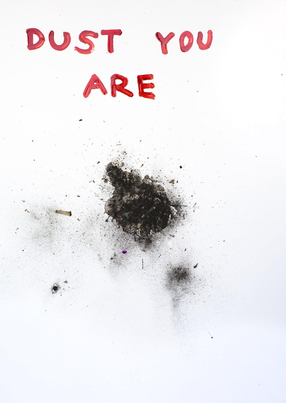 Krištof Kintera, Dust you are, 2018