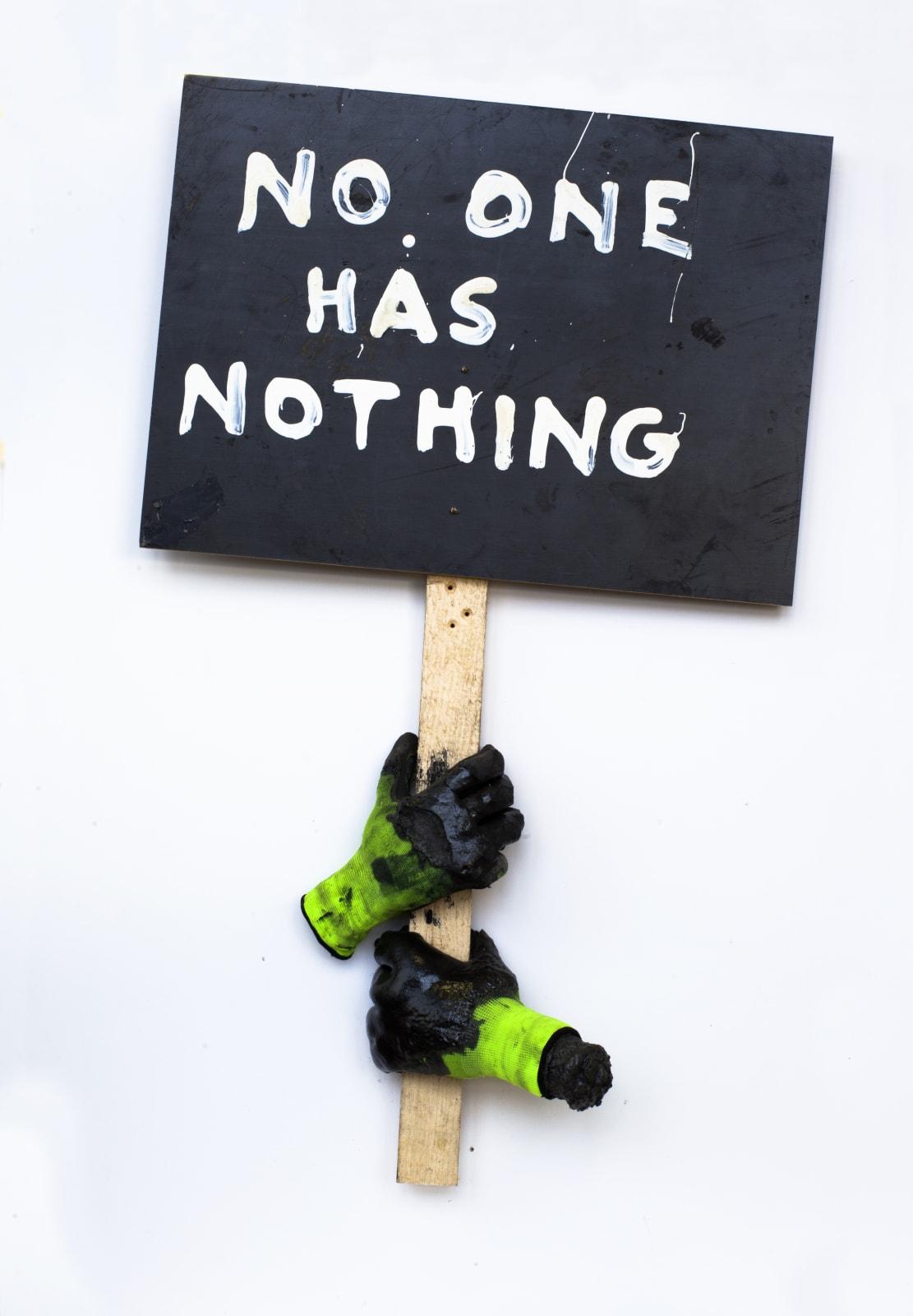 Krištof Kintera, No one has nothing, 2018