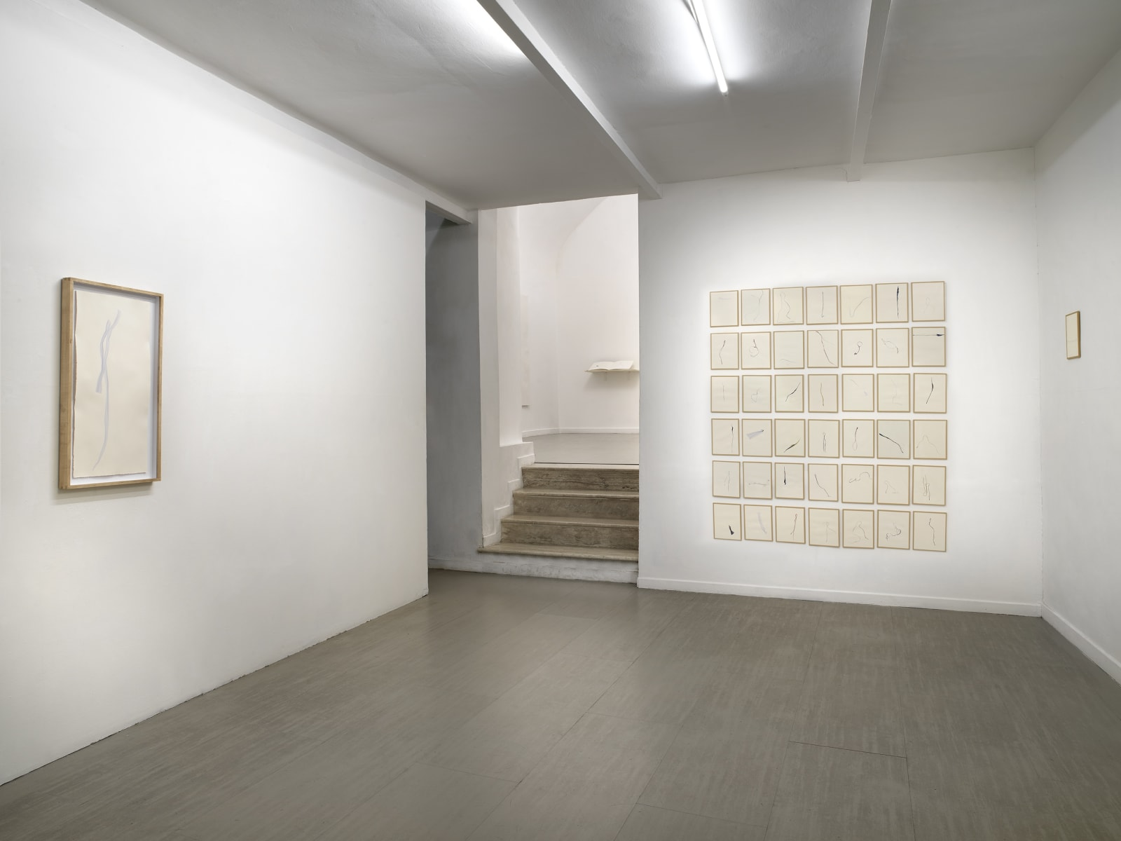 Beatrice Pediconi Nude curated by Cecilia Canziani installation view of the first room ph. Dario Lasagni