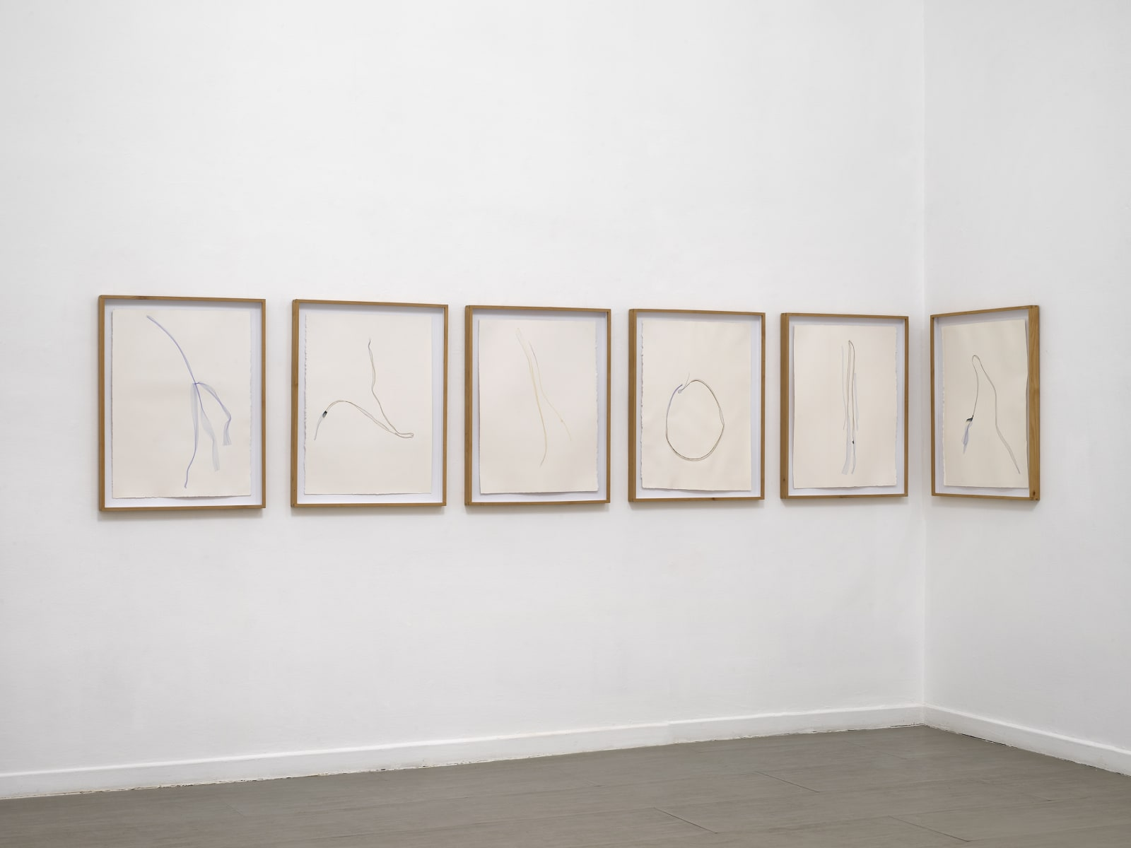 Beatrice Pediconi Nude curated by Cecilia Canziani installation view of the third room ph. Dario Lasagni