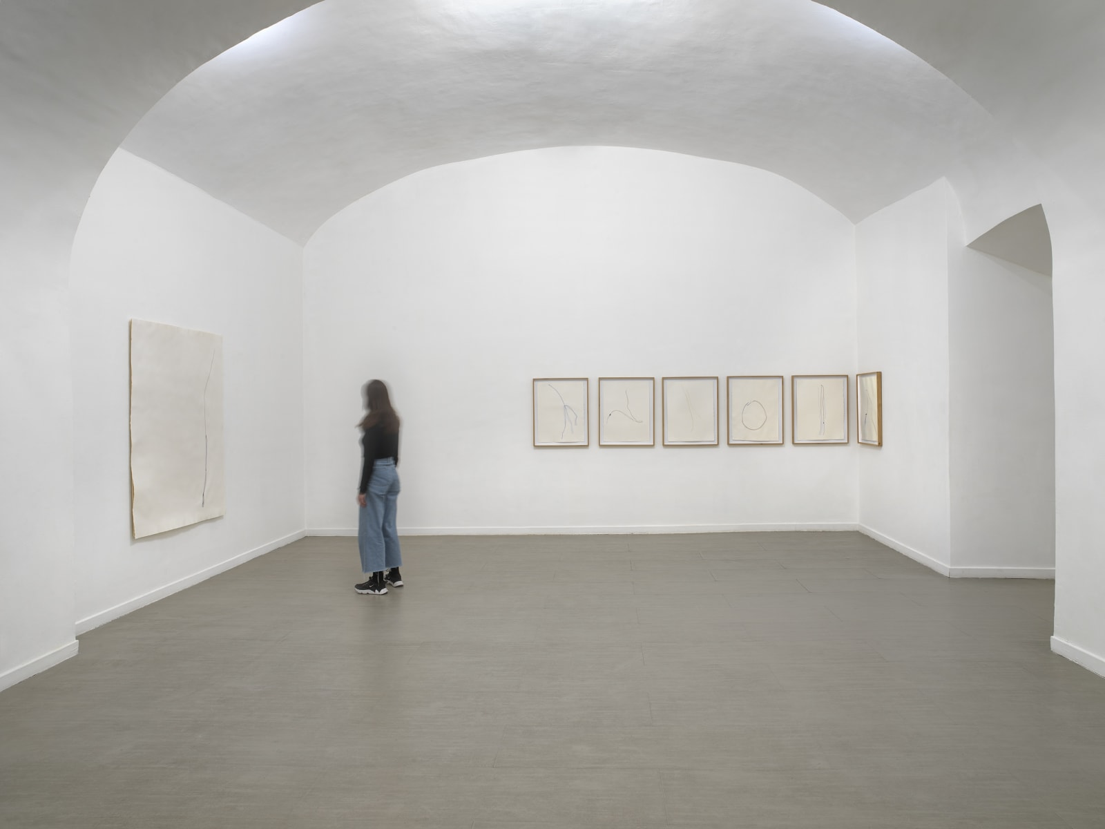 Beatrice Pediconi Nude curated by Cecilia Canziani installation view of the third room ph. Dario Lasagni