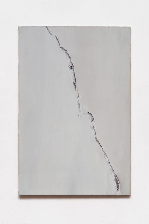 Michele Tocca Study of crack, 2021