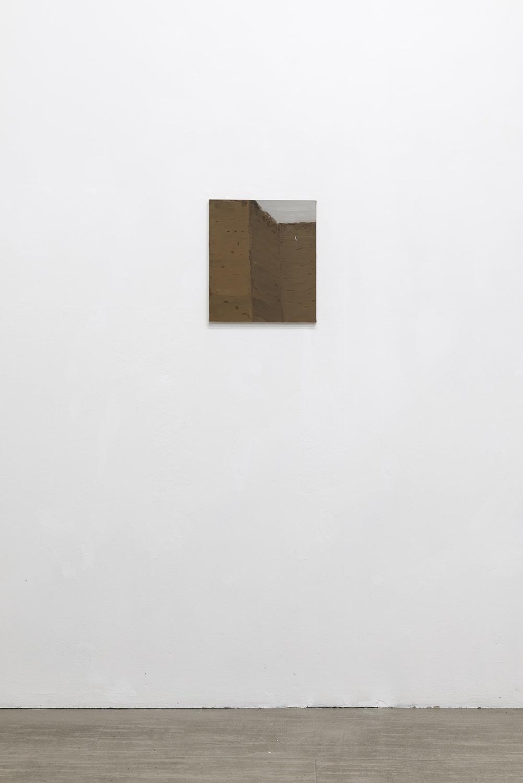 Michele Tocca Aurelian Walls (Viale del Policlinico), 2019 Oil on canvas cm 40 x 35 Ph. Sebastiano Luciano