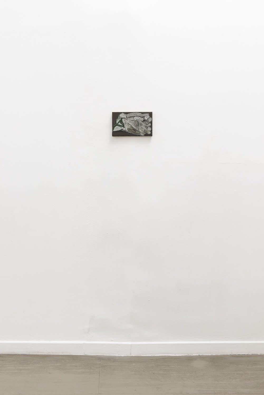 Michele Tocca Pelle fiore, 2021 Oil on canvas cm 25,2 x 15,2 Ph. Sebastiano Luciano