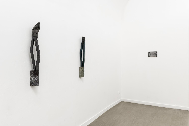 Verticale terra Fabrizio Prevedello / Michele Tocca Curated by Davide Ferri Installation view of the second room Ph. Sebastiano Luciano
