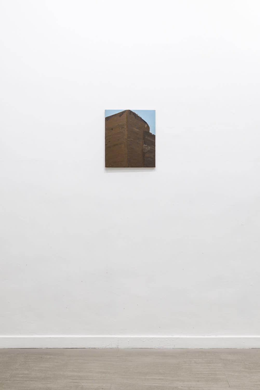 Michele Tocca Aurelian Walls (S. Lorenzo), 2019 Oil on canvas cm 40 x 35 Ph. Sebastiano Luciano
