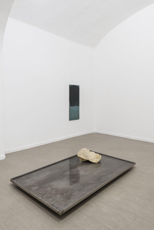 Verticale terra Fabrizio Prevedello / Michele Tocca Curated by Davide Ferri Installation view og the third room Ph. Sebastiano Luciano