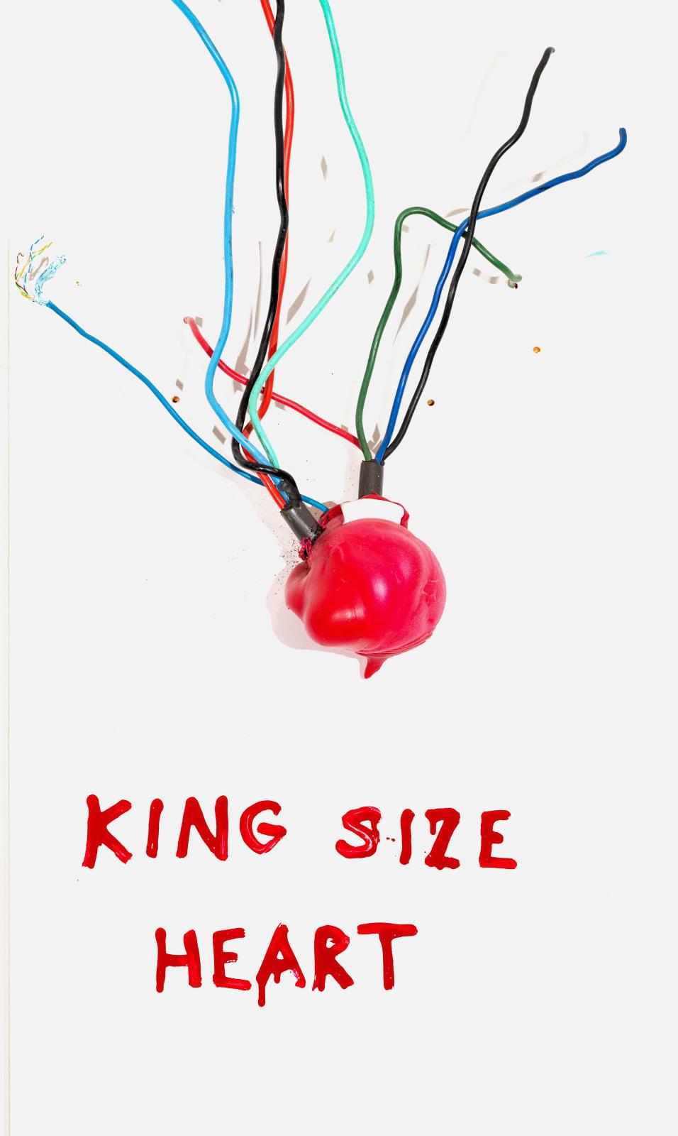 Krištof Kintera, King size heart, 2019