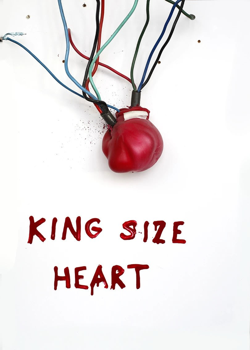 Krištof Kintera, King size heart, 2018