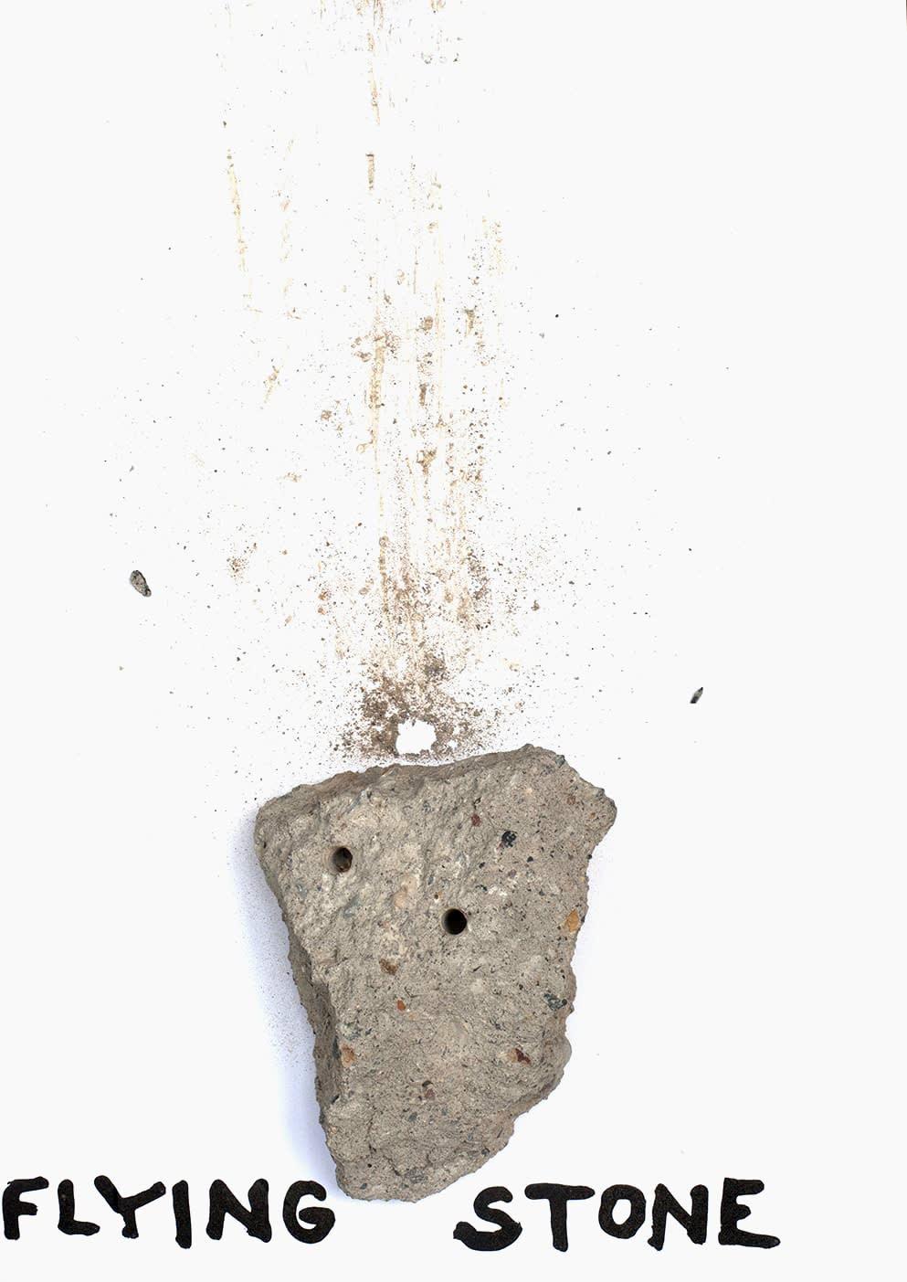 Krištof Kintera, Flying stone, 2019