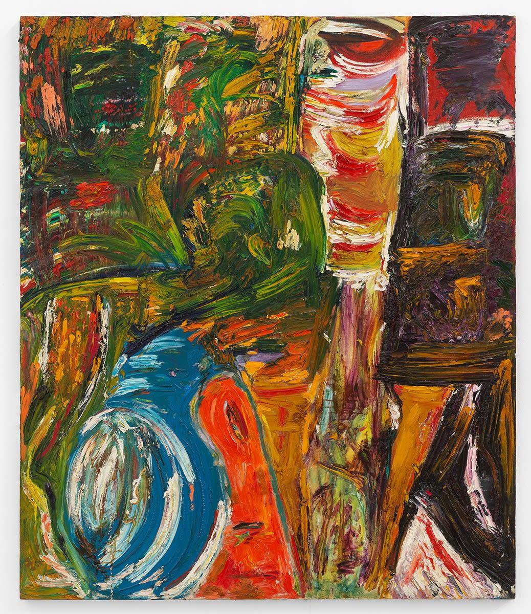 Jorge Guinle Pastoral, 1985 Óleo sobre tela 200 x 170 cm