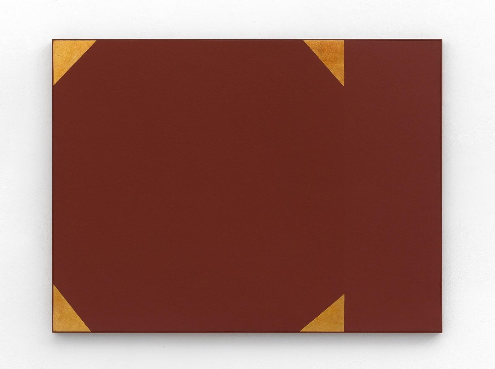 Mira Schendel Sem título, Dec 60 Tempera e folha de ouro sobre madeira 90 x 120 cm