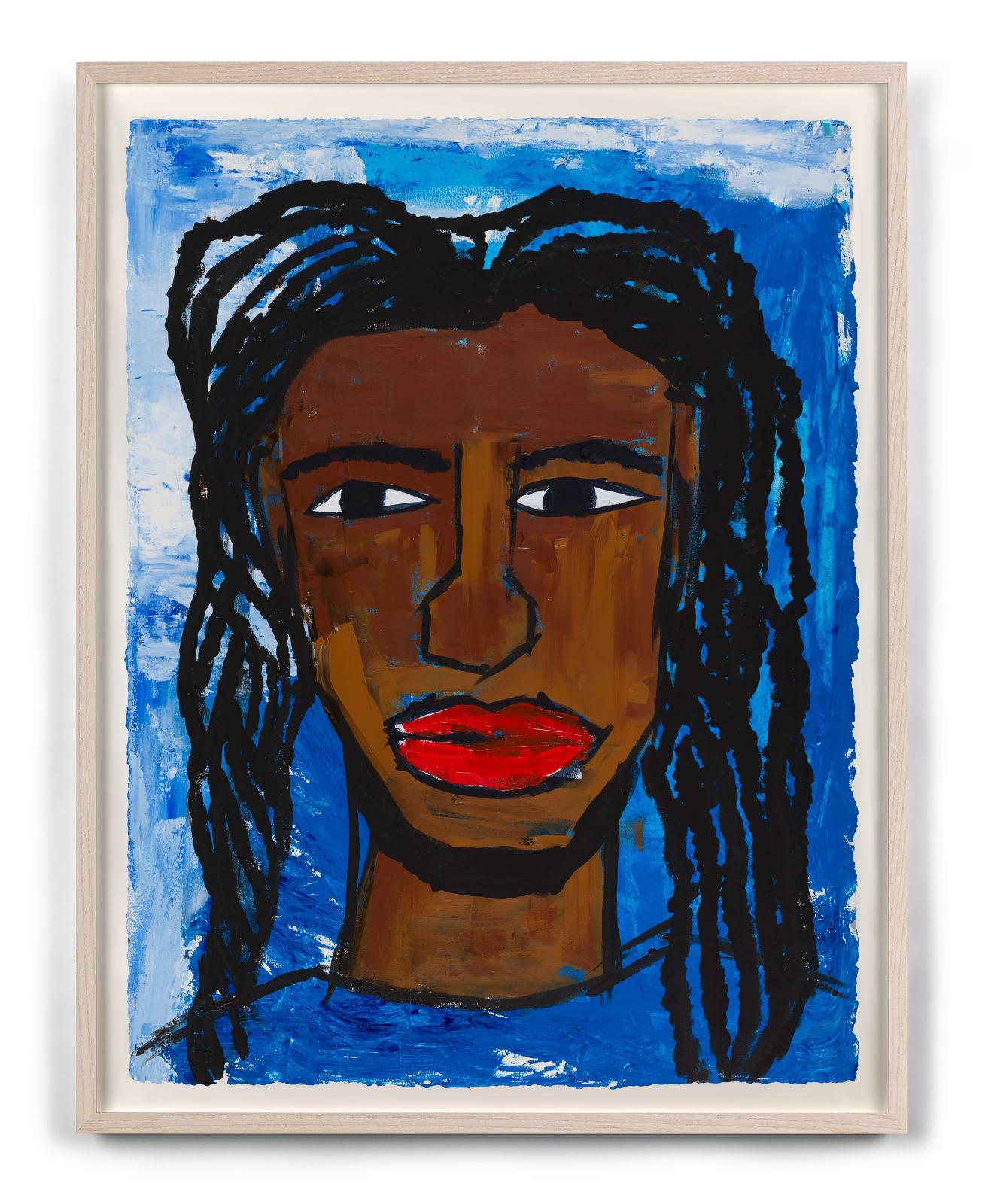 "<div class=""artist"">Leilah Babirye</div><div class=""title_and_year""><span class=""title"">Kuchu Ndagamuntu (Queer Identity Card)</span><span class=""year"">, 2021</span></div>"