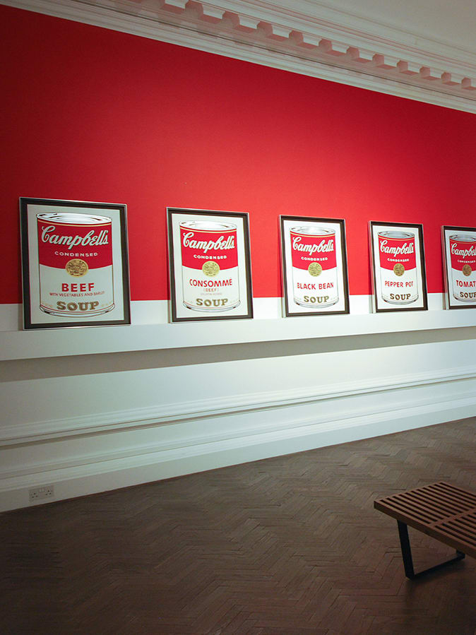 Andy Warhol Online Exhibition