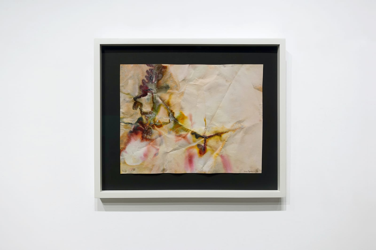 Sam Gilliam, Untitled, 1971, Mixed media on paper, 13 3/4 x 17 5/8 inches