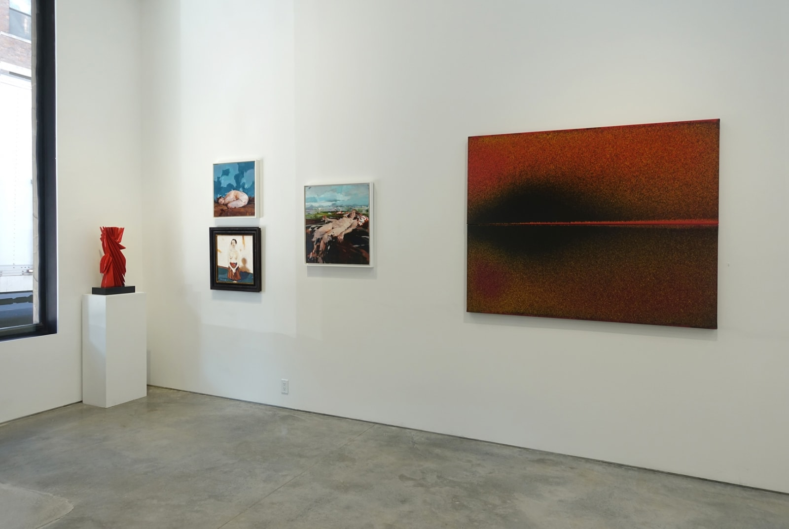 Installation view: Selections from our Contemporary Collection​