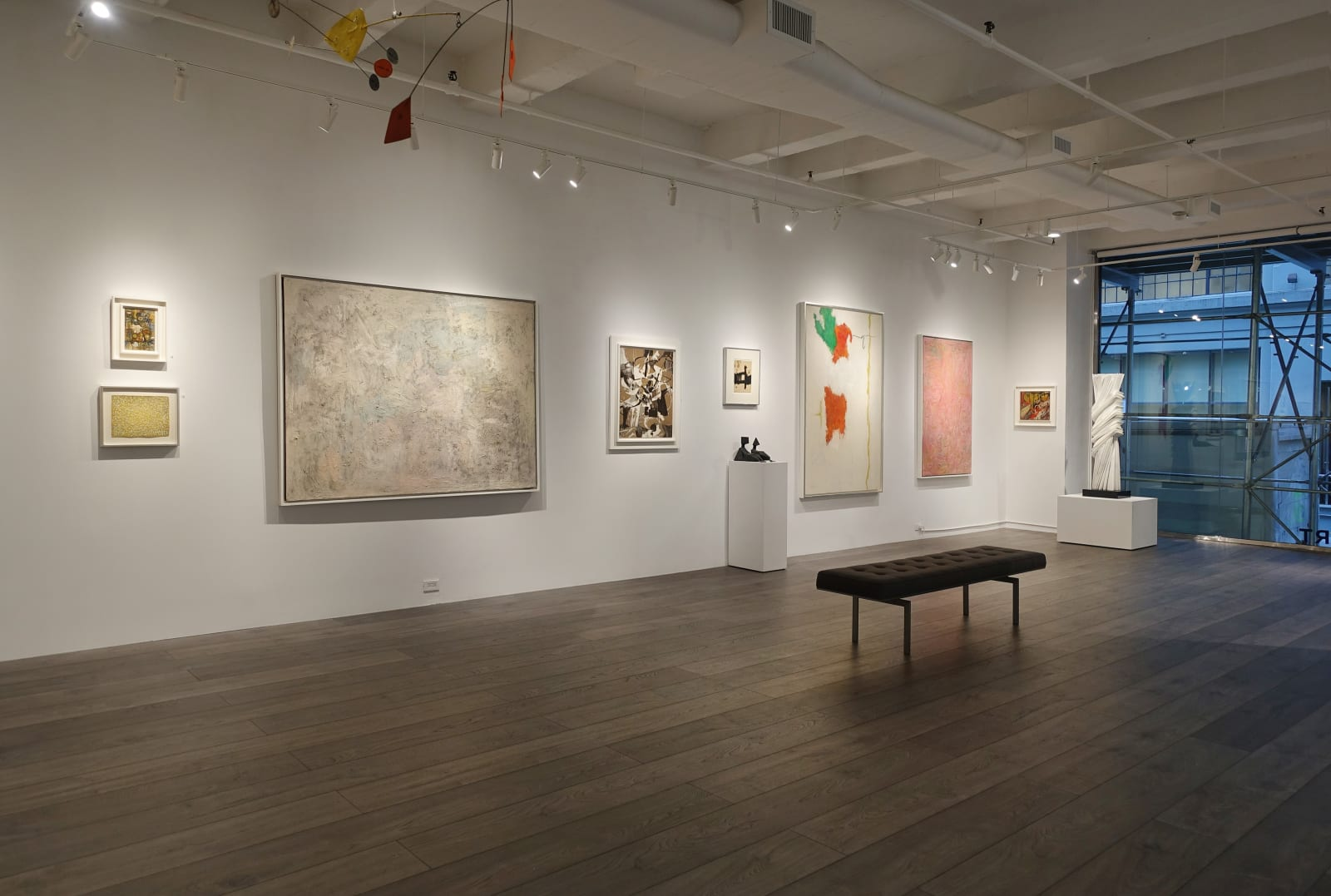 Installation view: Recent Post-War Acquisitions
