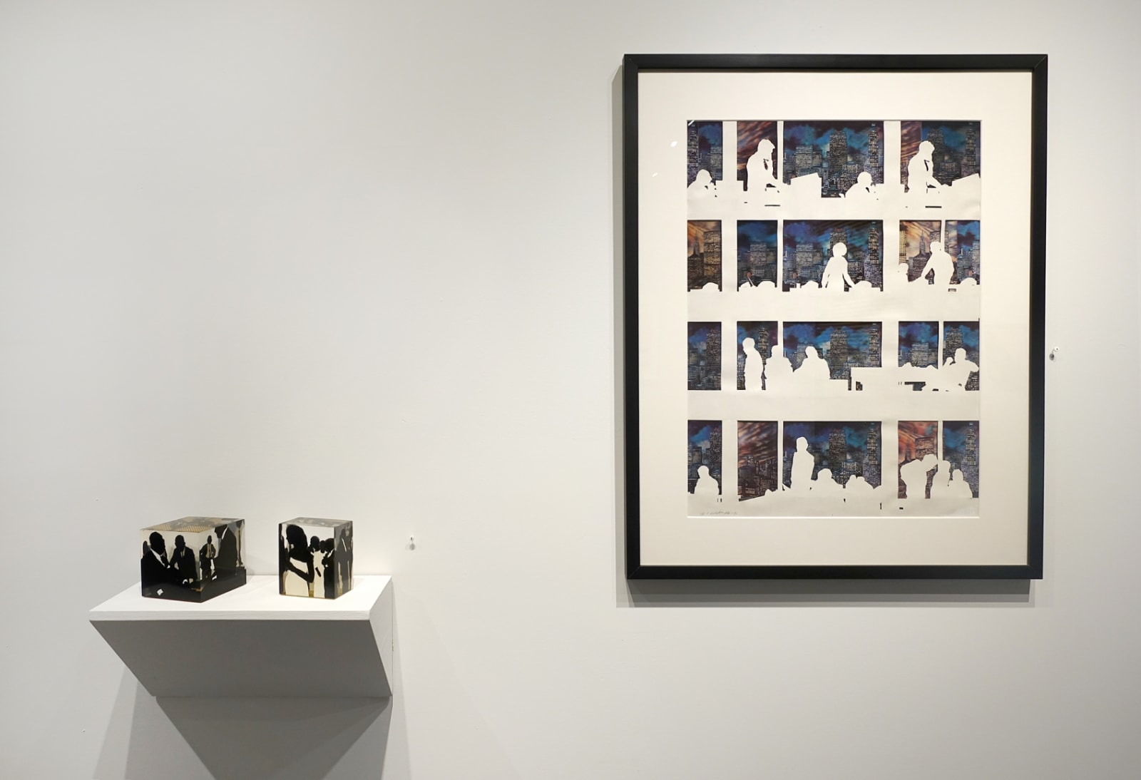 Installation view: Idelle Weber: Postures and Profiles from the 50s and 60s