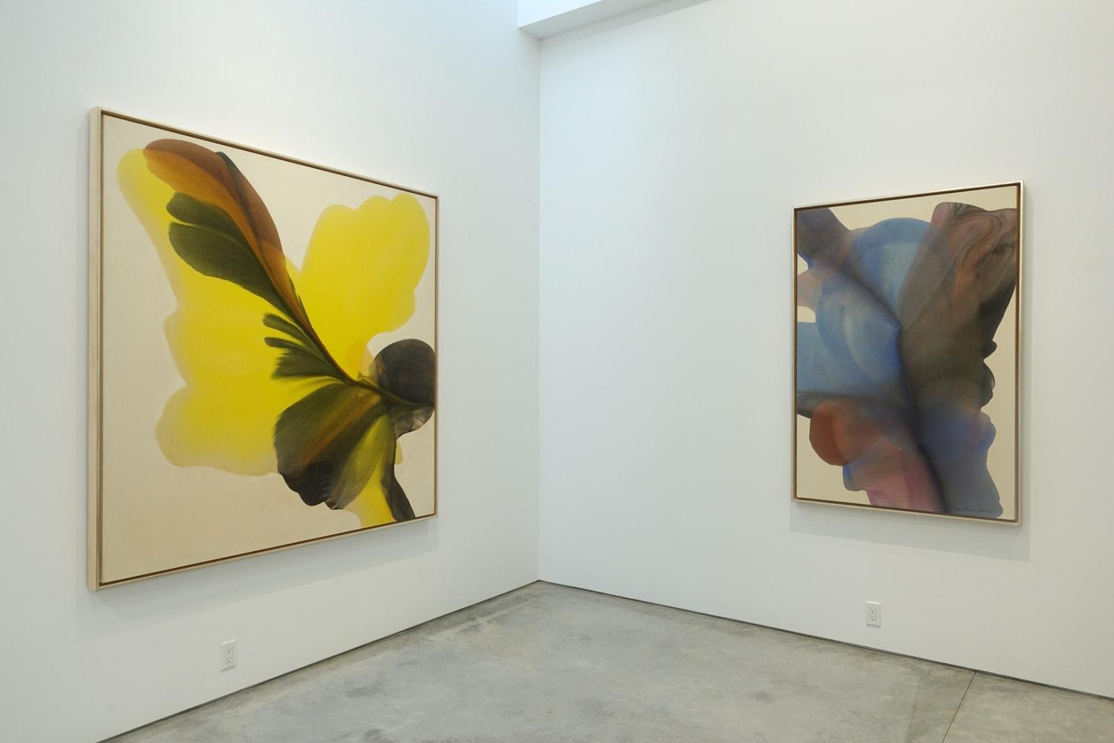 Installation view: Irene Monat Stern: Air of Twilight