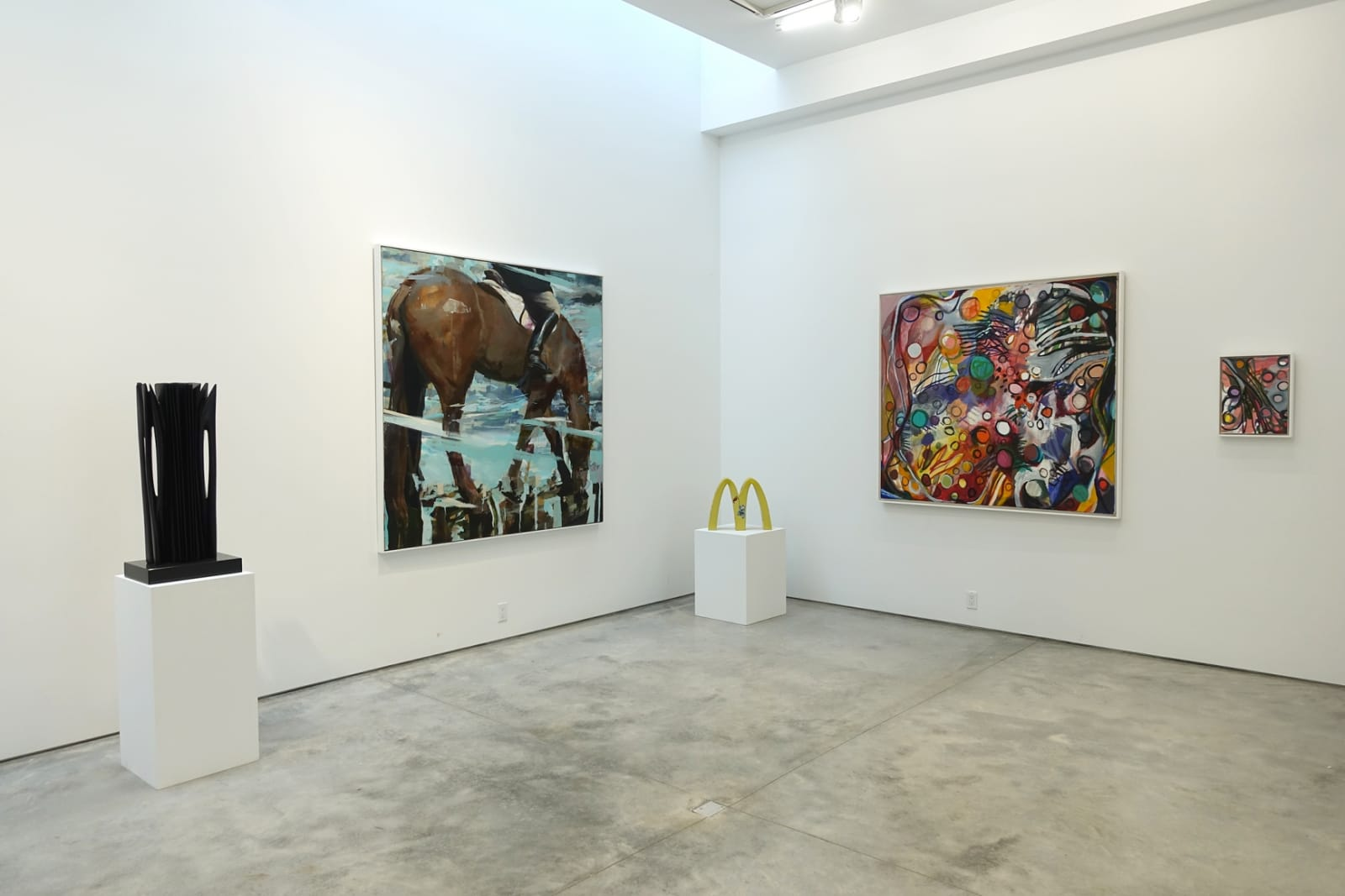 Installation view: Five at Nine