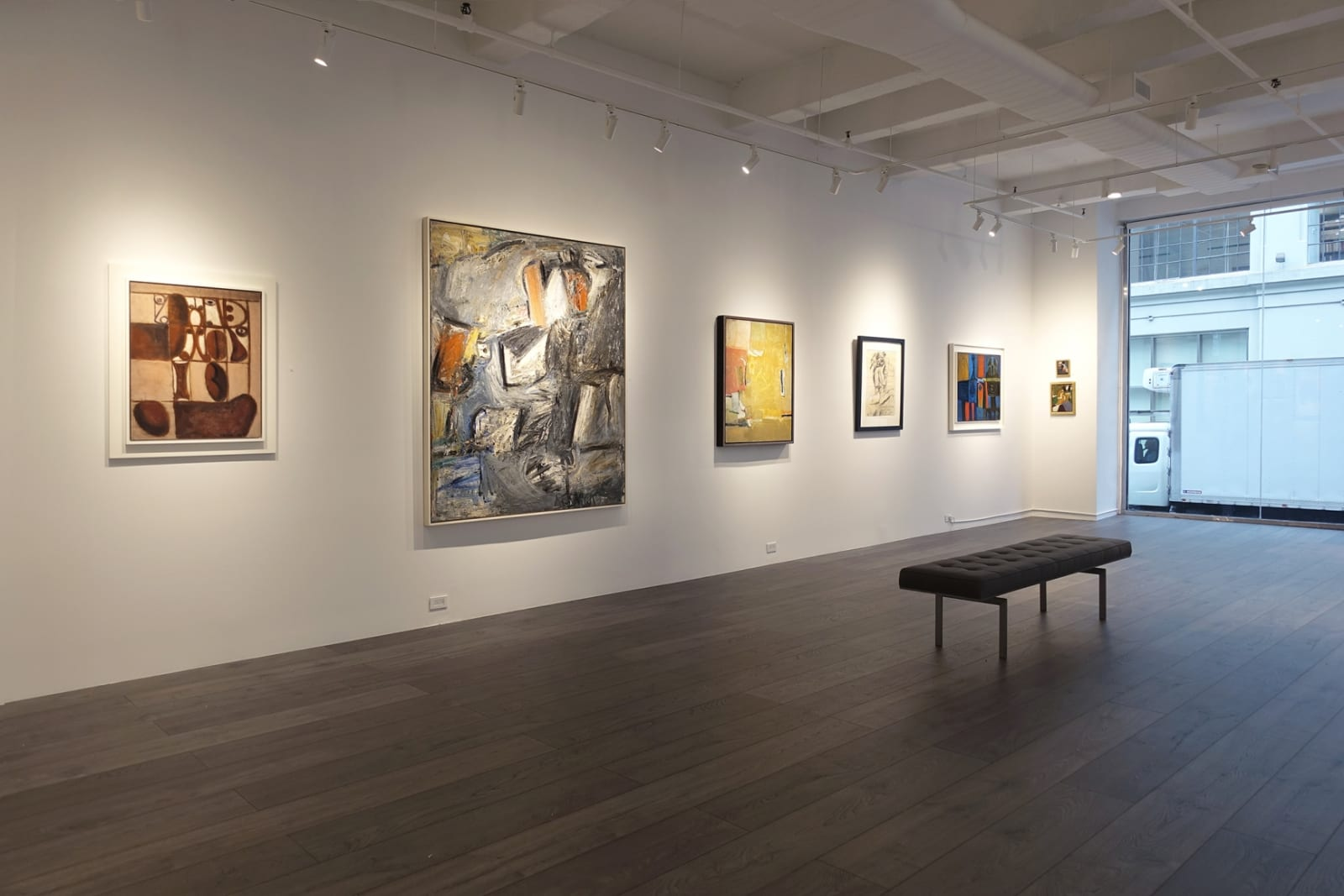 Installation view: New Space, New Acquisitions
