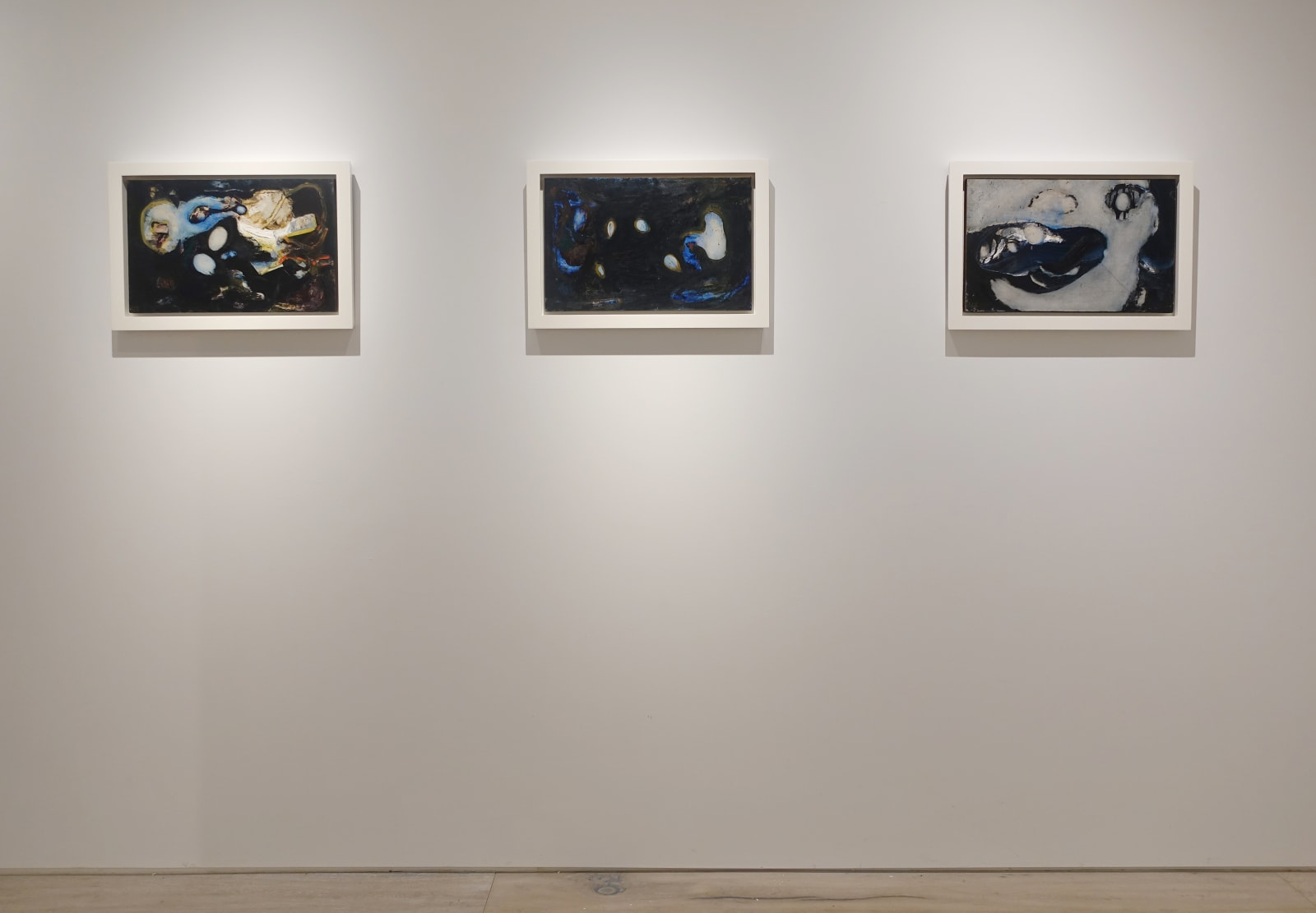 Installation view: Primordial Language: Small Works by William Scharf
