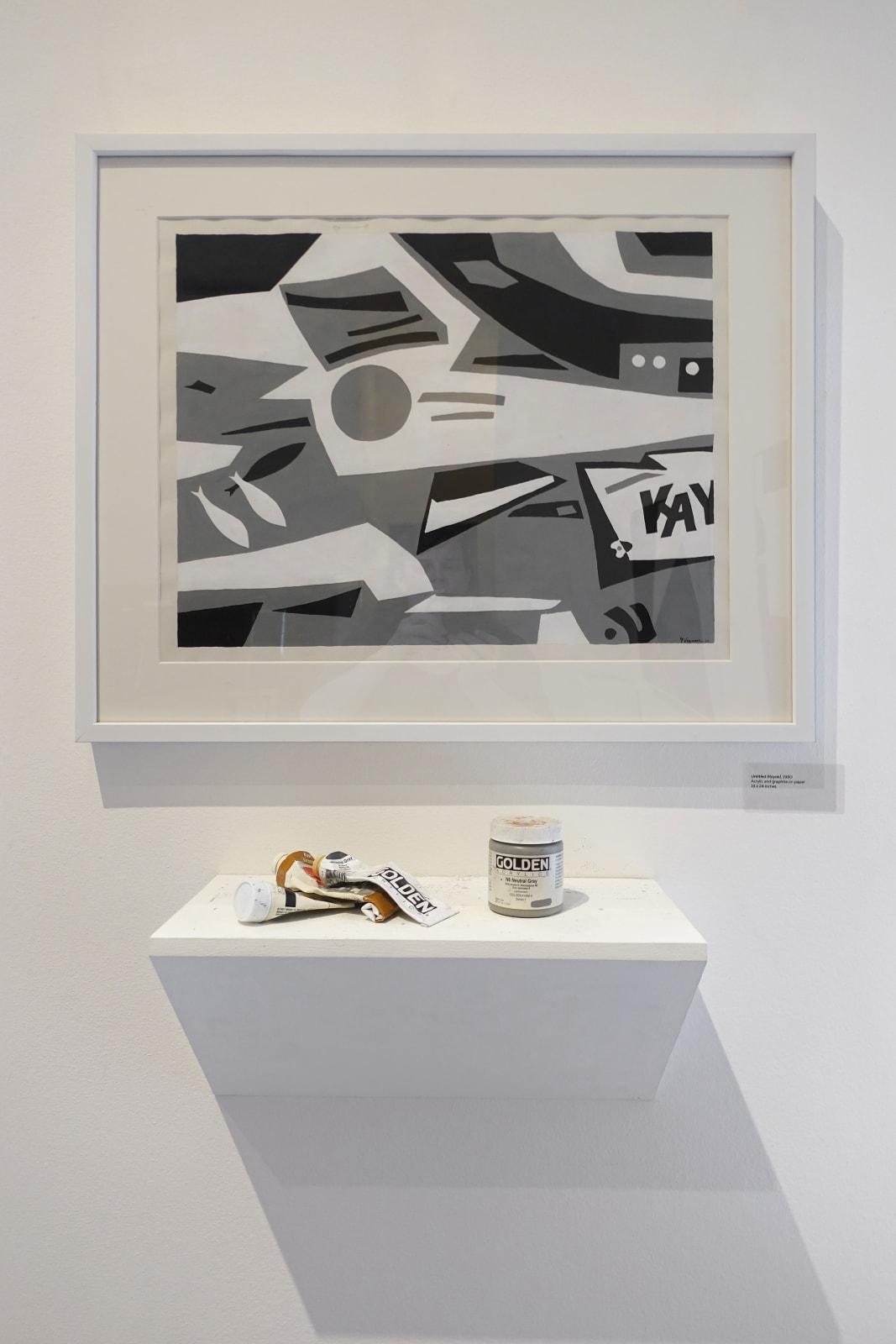 Installation view: George Vranesh: Kaleidoscopic Modernism
