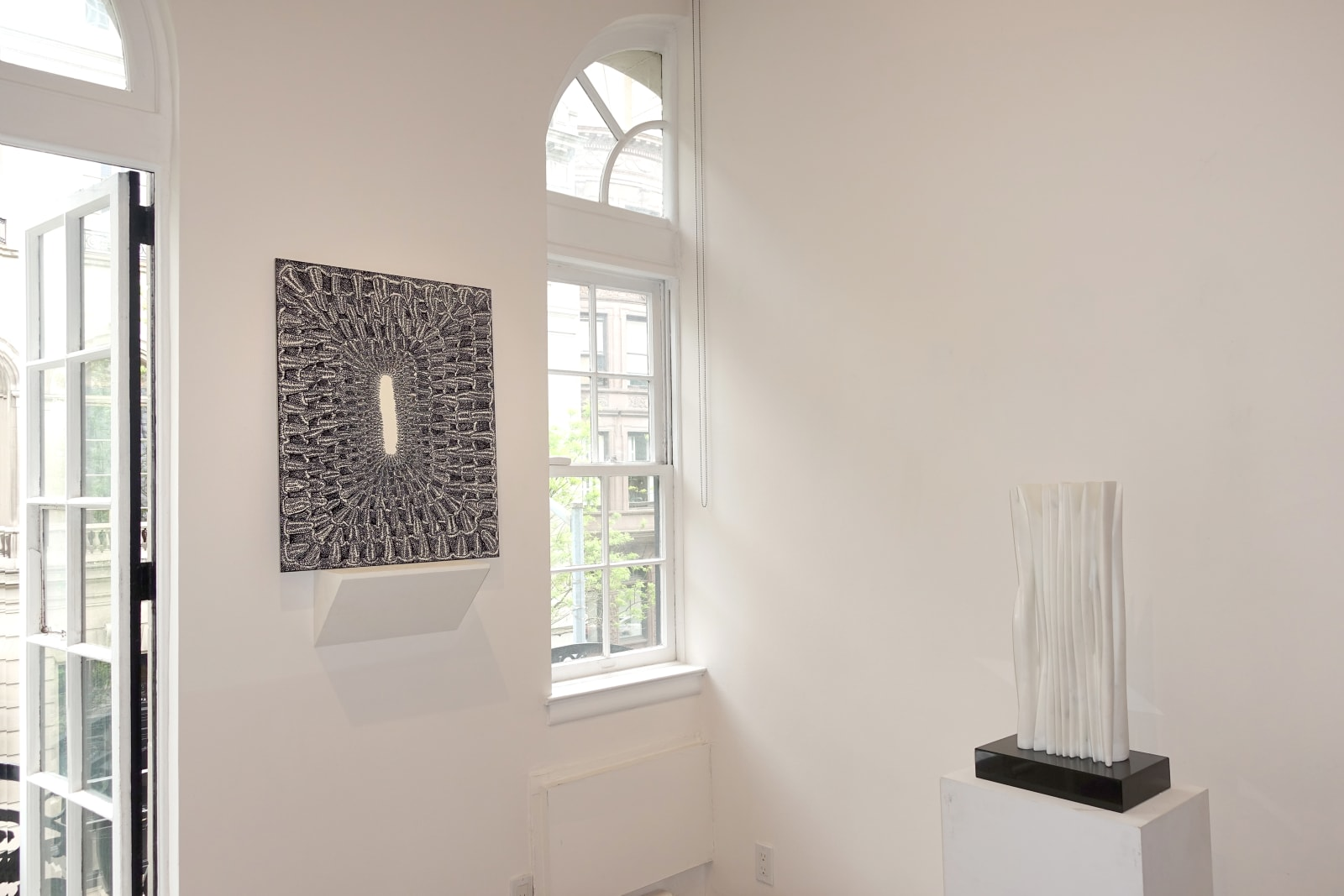 Installation view: In the Absence of Color: Artists Working in Black and White
