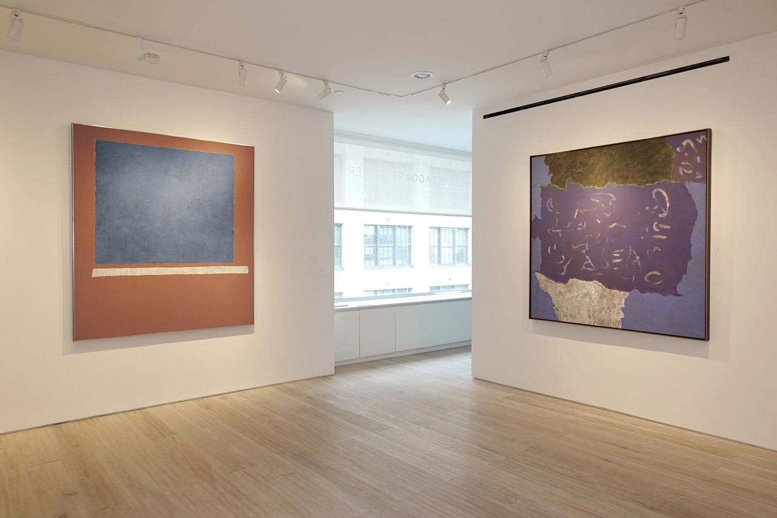 Installation view: Theodoros Stamos: Contemplations on the Universal