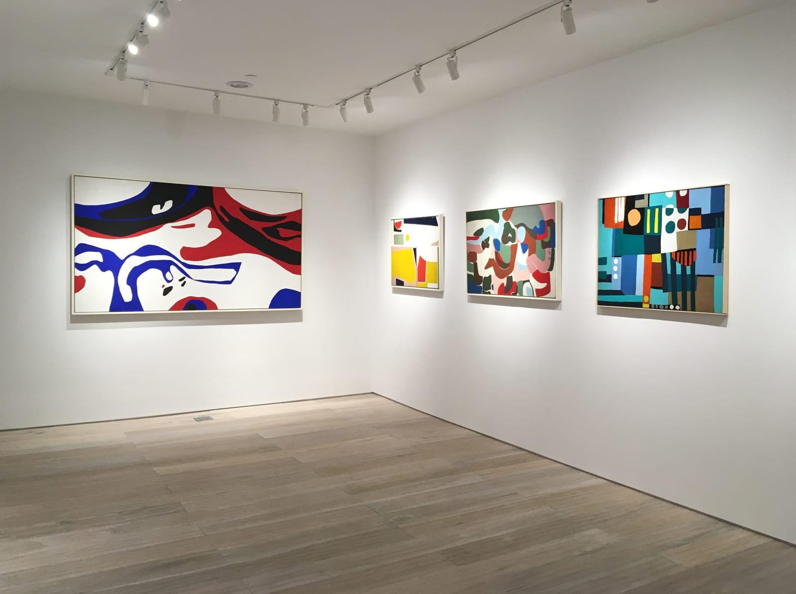 Installation view: George Vranesh