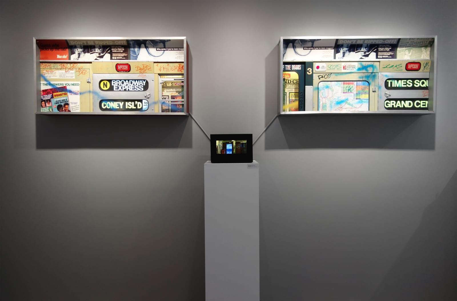 Installation view: Alan Wolfson: New York Nocturnes