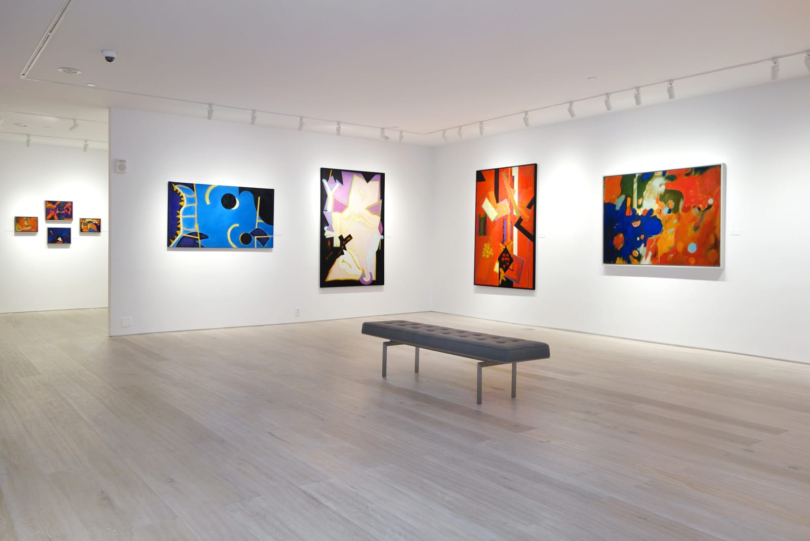 Installation view: William Scharf: Imagining the Actual