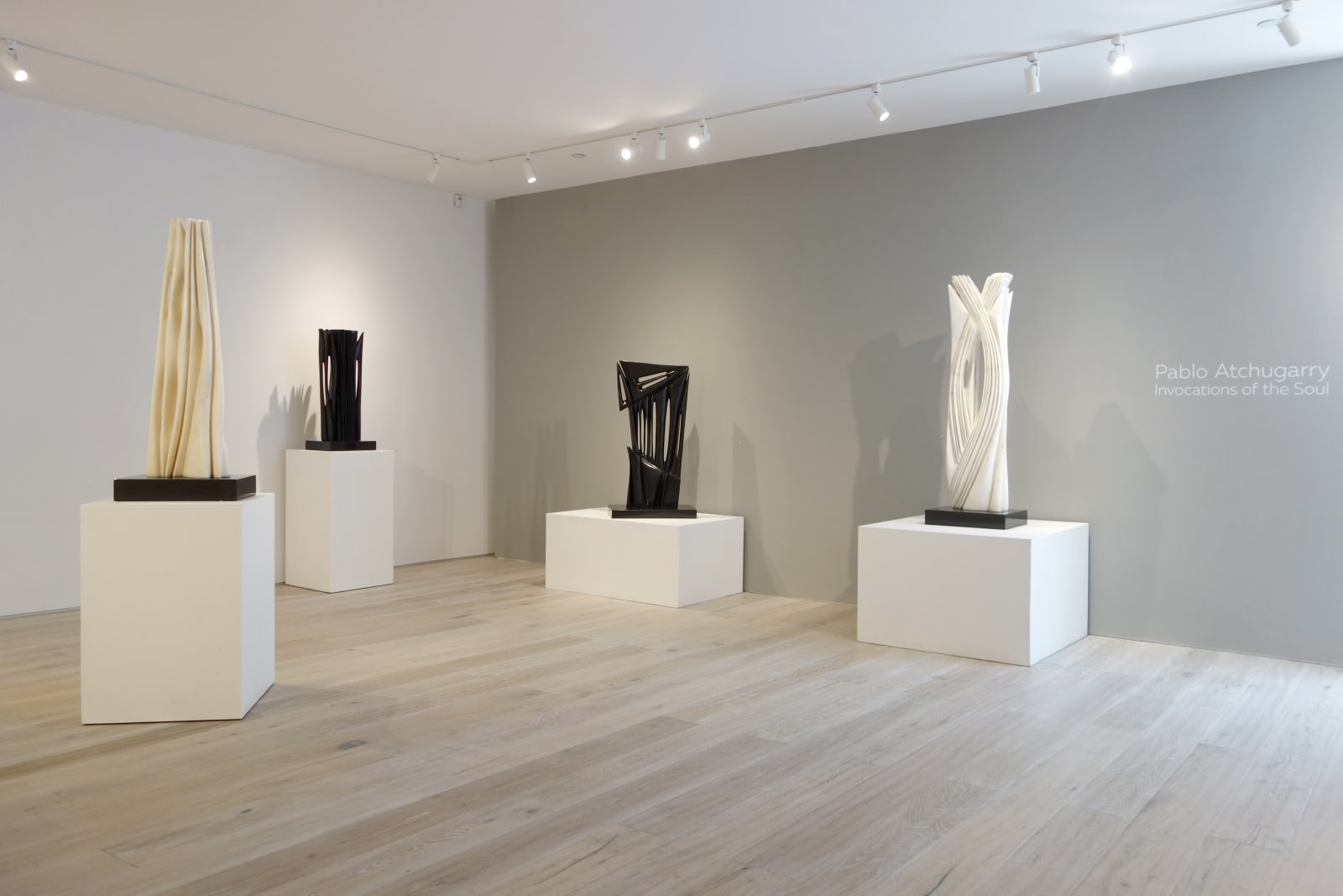 Installation view: Pablo Atchugarry: Invocations of the Soul