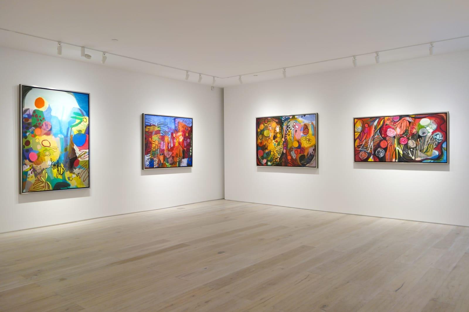 Installation view: Bill Scott: Imagining Spring