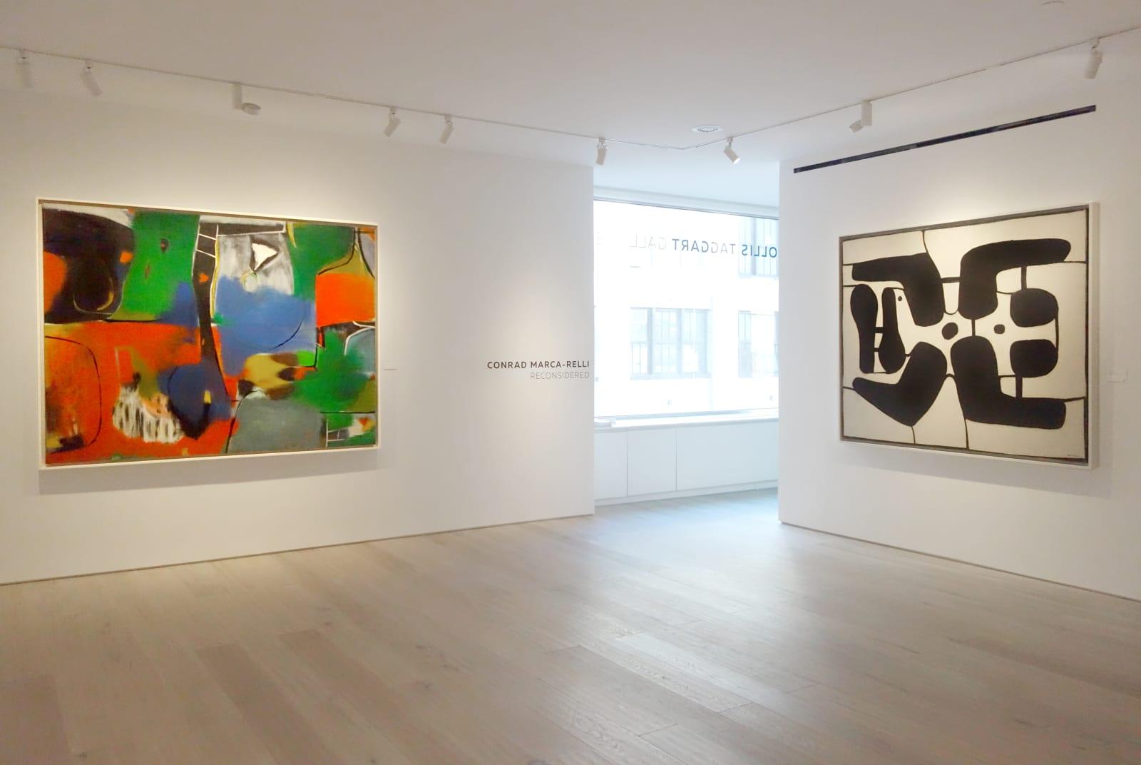 Installation view: Conrad Marca-Relli: Reconsidered