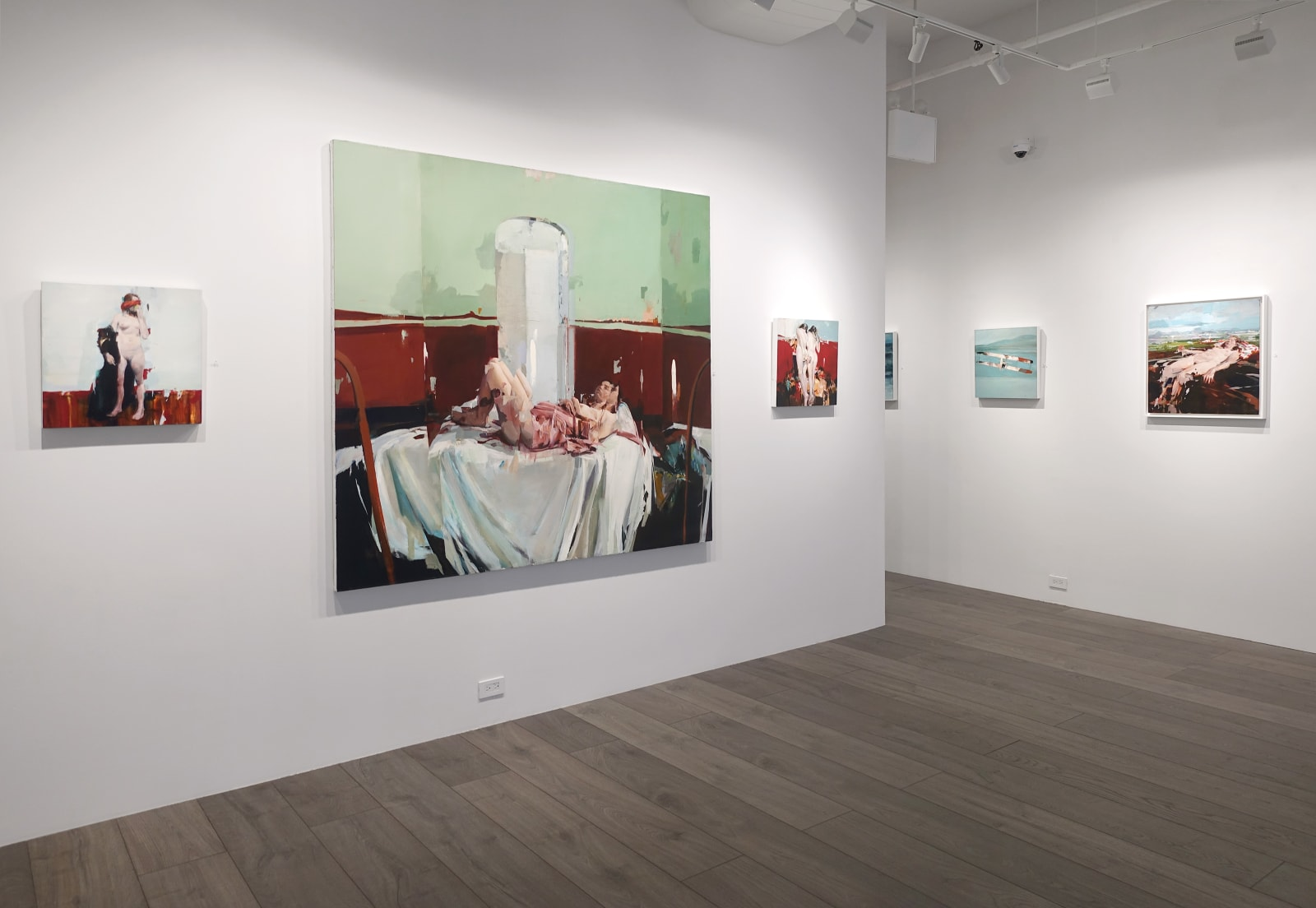 Installation view: Alex Kanevsky: Liberation and Disorientation