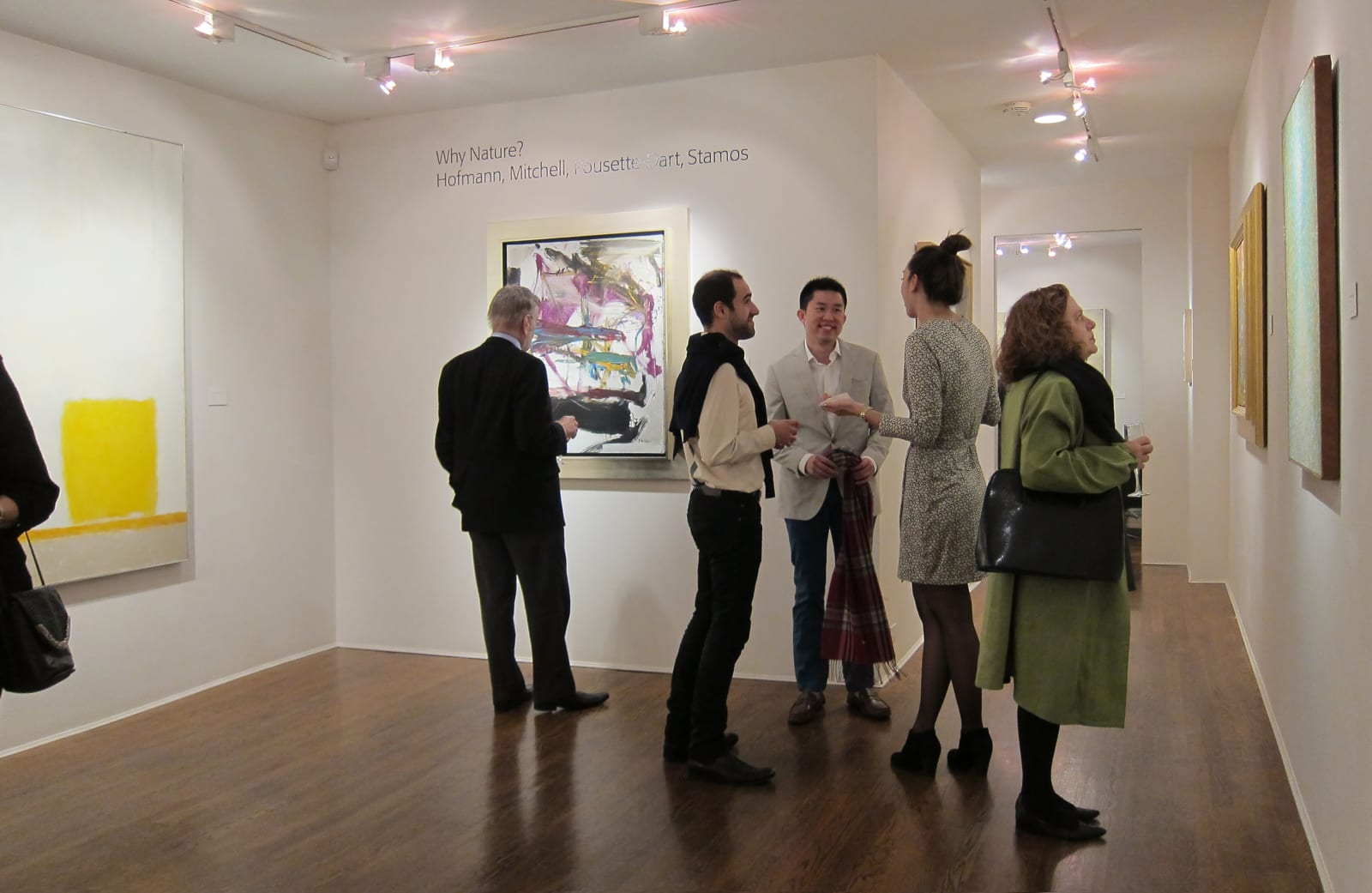 Opening reception: Why Nature? Hofmann, Mitchell, Pousette-Dart, Stamos