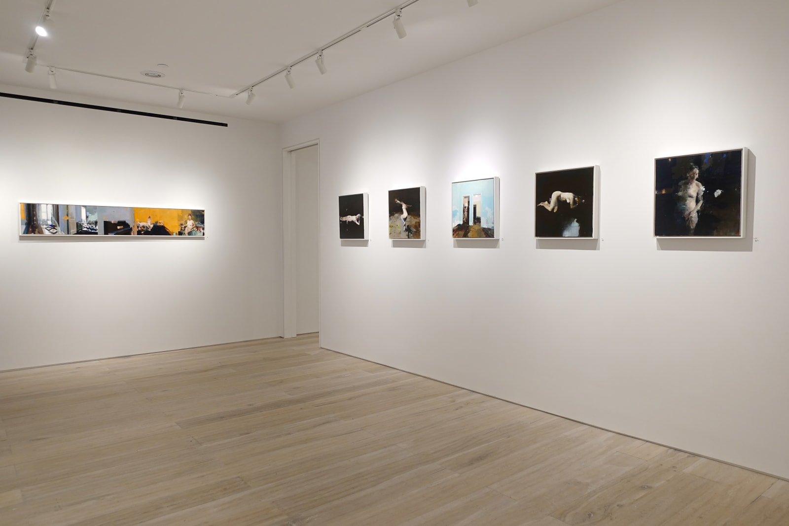 Installation view: Alex Kanevsky: Some Paintings In No Particular Style