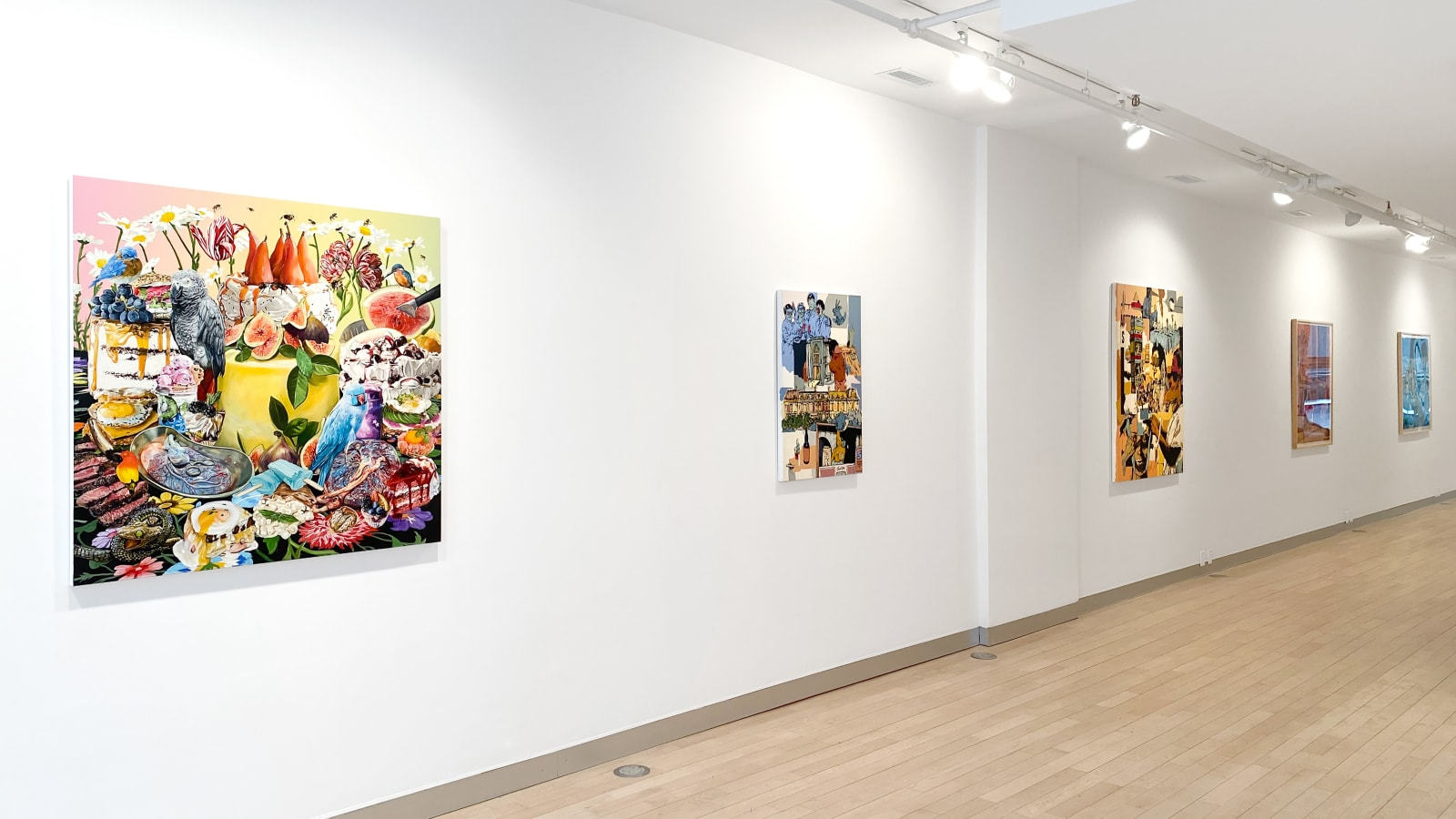 Installation view: Of Folly, Fortune, Glory, Ruin: William Buchina and Christina Nicodema