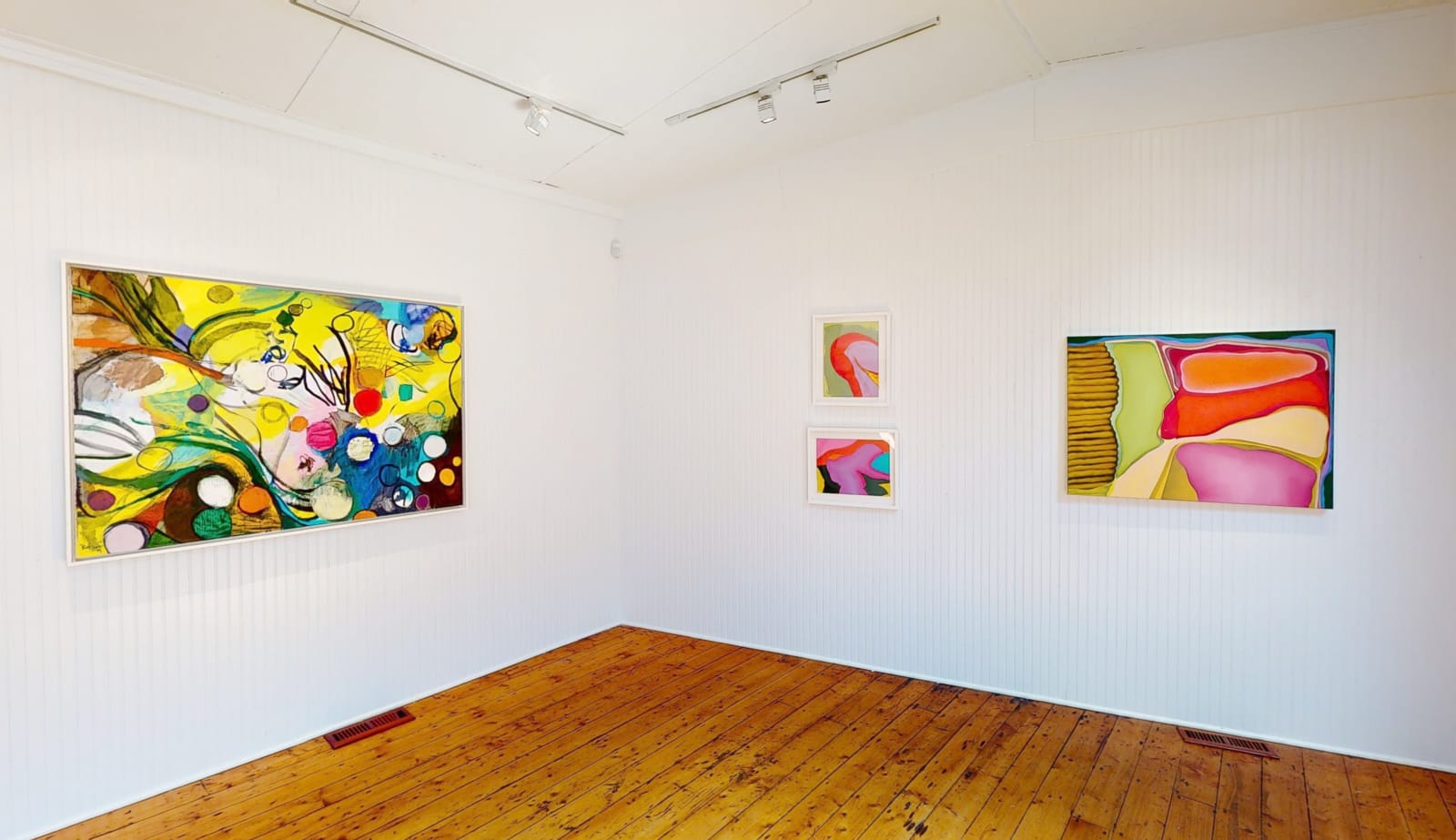 Installation view: Look Again: A Survey of Contemporary Painting
