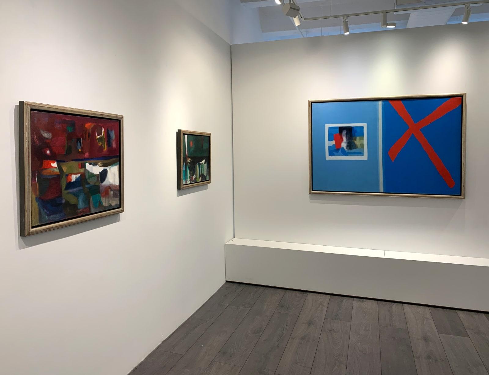 Installation view: Ralph Della-Volpe