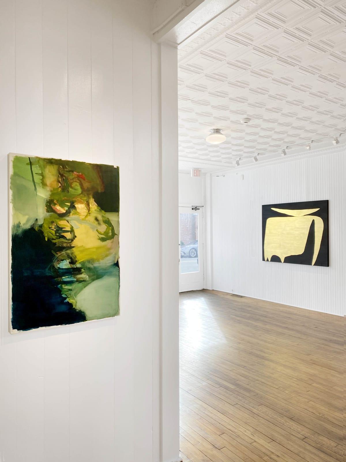 Installation view: A Way of Feeling: Thomas Agrinier, Hollis Heichemer, and Anna Pietrzak