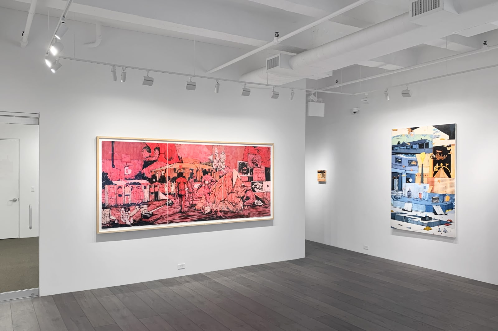 Installation view: William Buchina: Low Information Settings