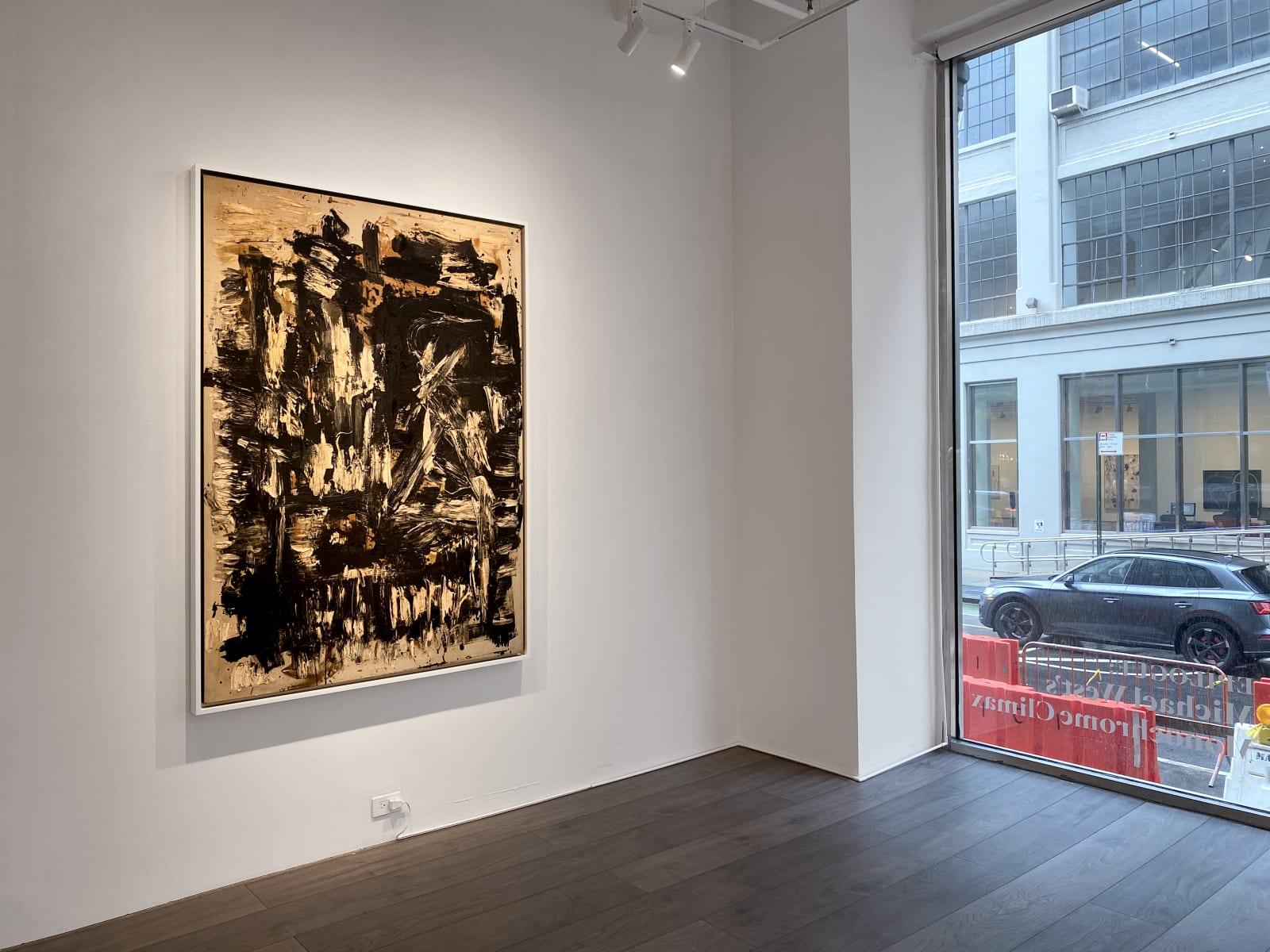 Installation view: Epilogue: Michael West's Monochrome Climax
