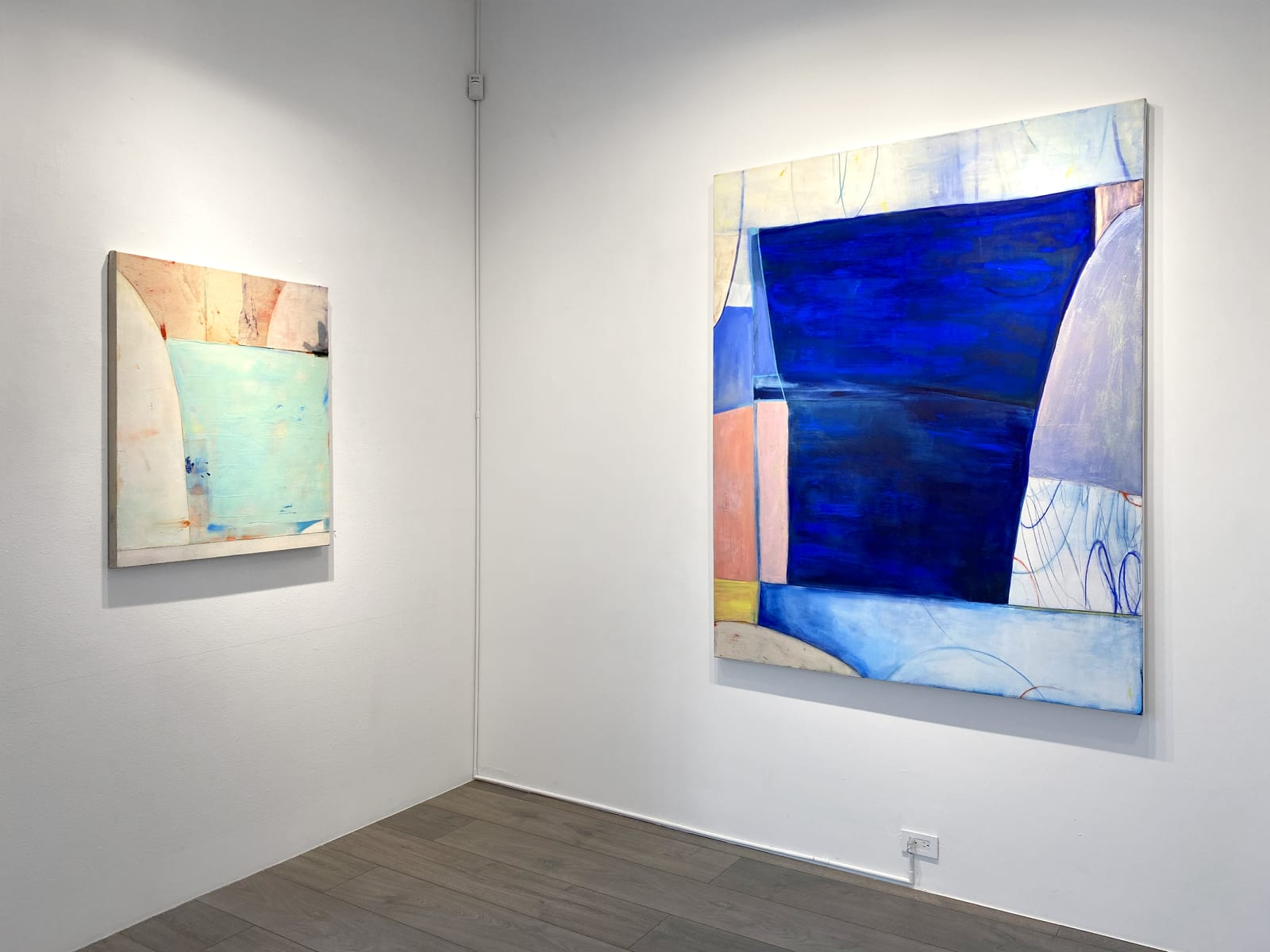 Installation view: Dana James: Something I Meant to Say