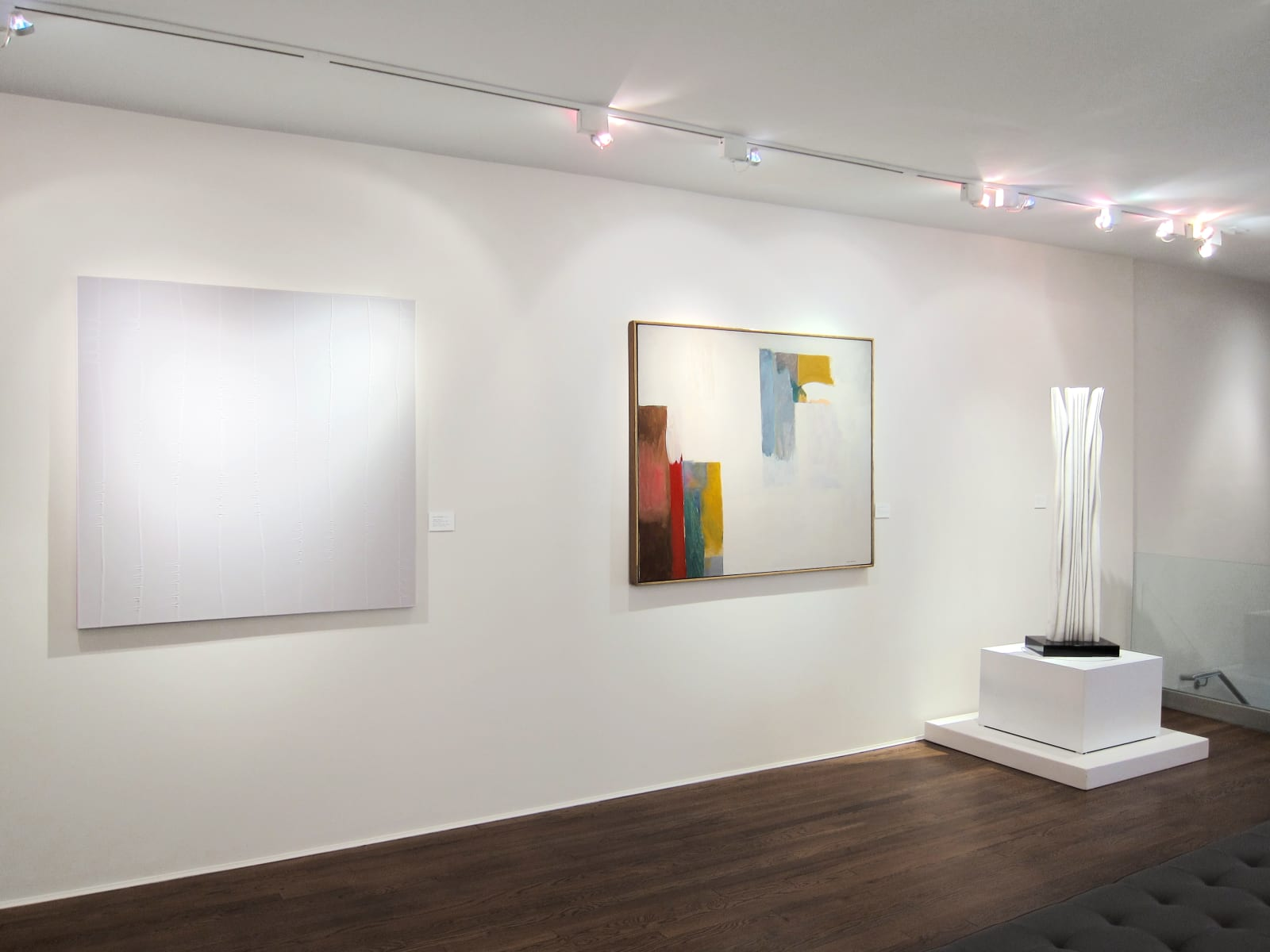Installation view: Pulling at Polarities