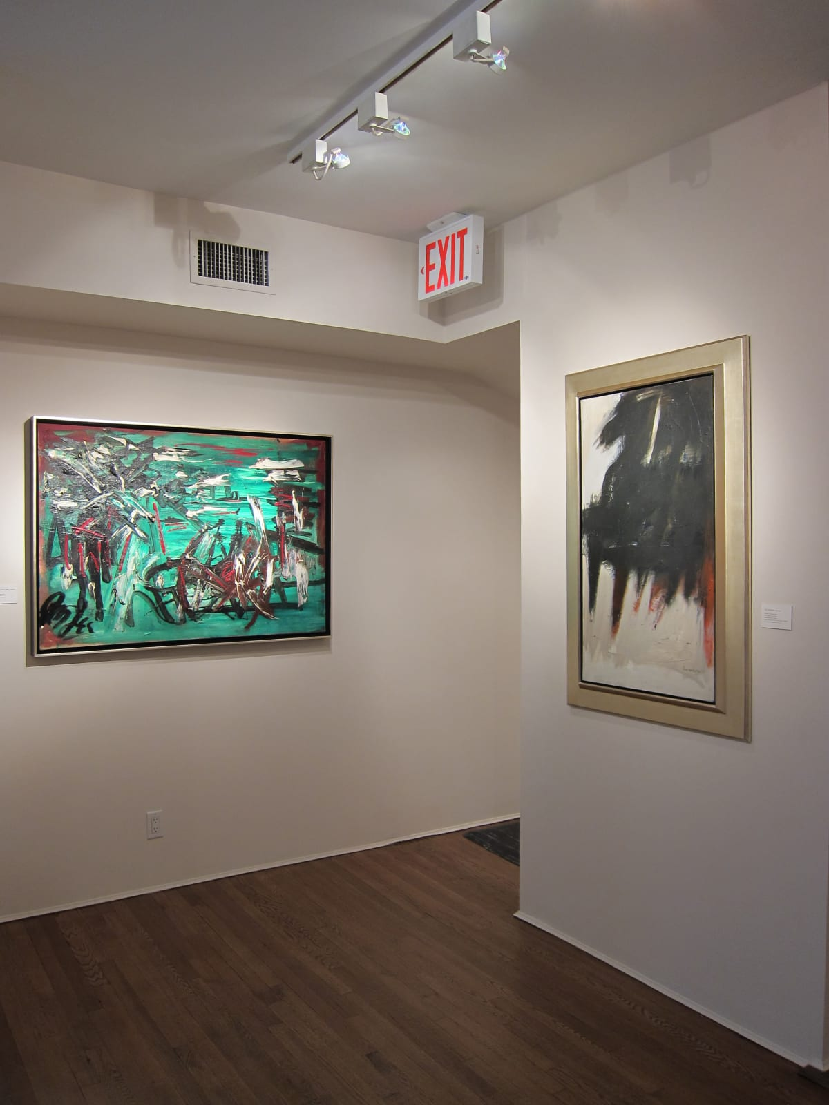 Installation view: Gesture and Abstraction: Abex Gallery Selections