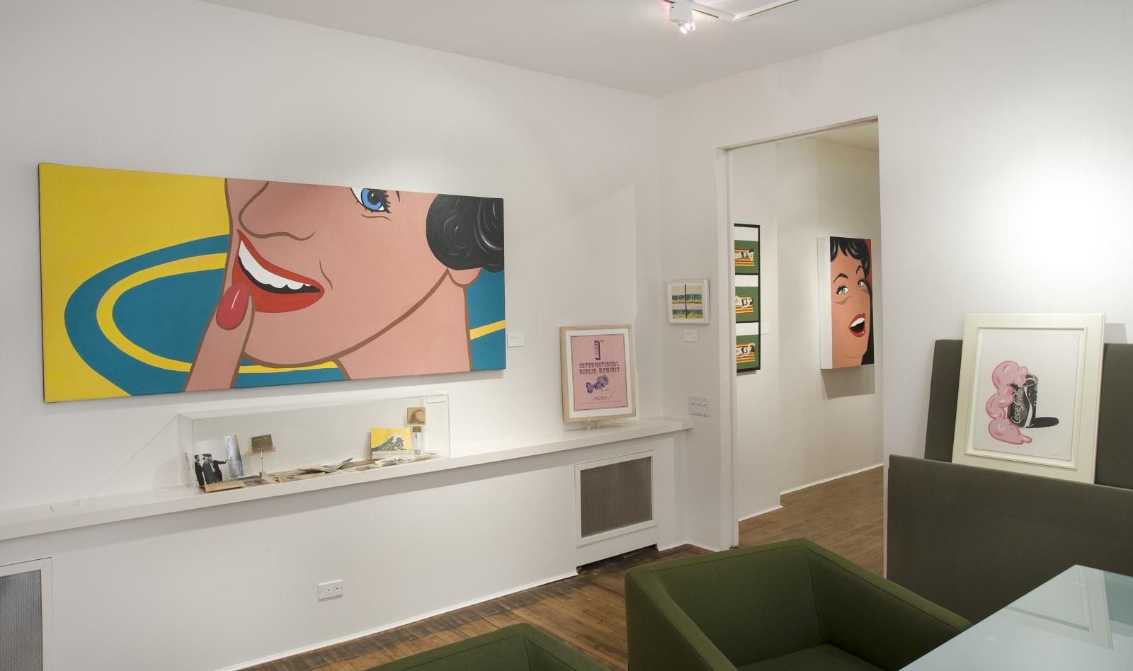 Installation view: Marjorie Strider