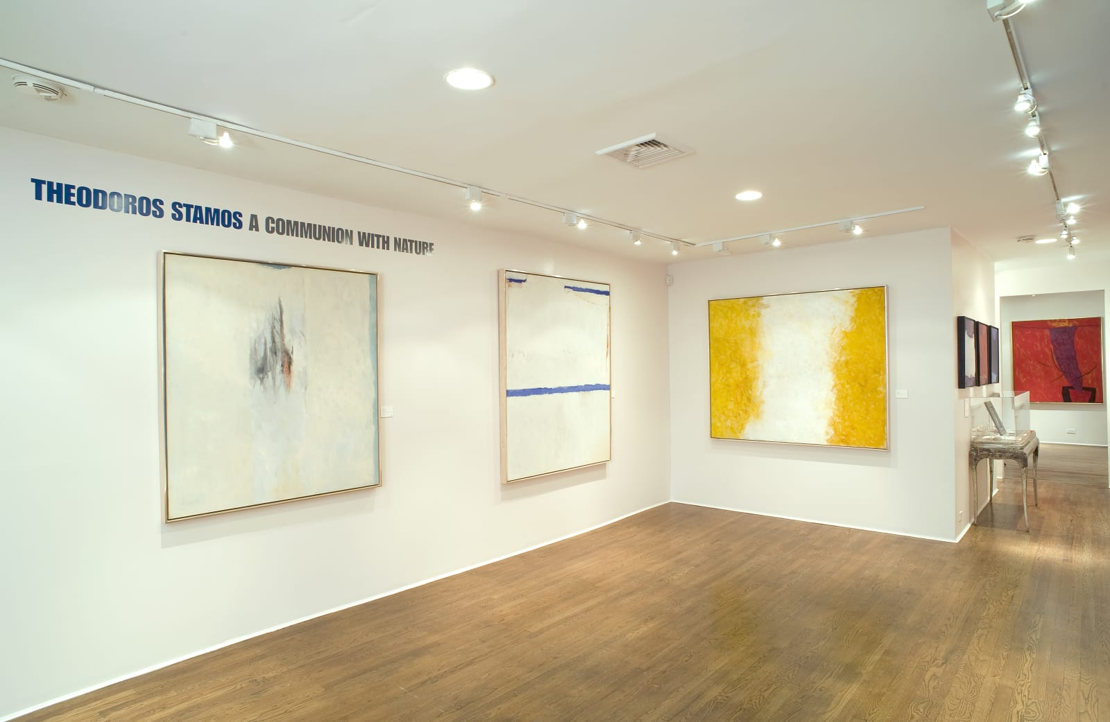 Installation view: Theodoros Stamos: A Communion with Nature