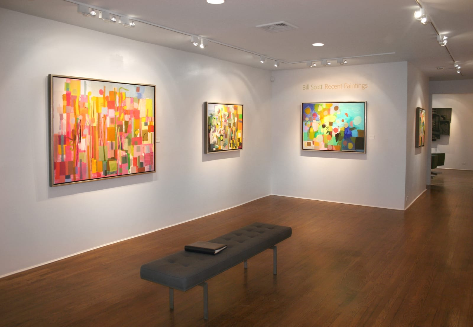 Installation view: Bill Scott: Recent Paintings